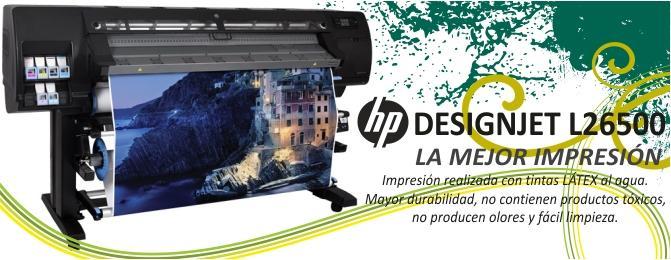 Impresora fotomurales HP